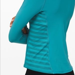 Lululemon mesh sides long sleeve